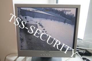 Установка видеонаблюдения в коттедже. Данные с камеры видеонаблюдения крупным планом.