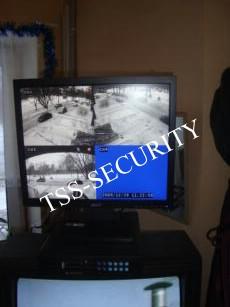 Система видеонаблюдения у консьержа