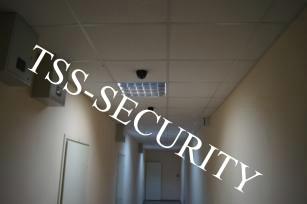 Установка видеонаблюдения в офисе. Купольные камеры охранного видеонаблюдения.