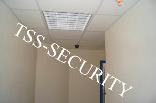 Монтаж слаботочных сетей в офисе. Установка видеонаблюдения.