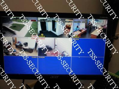 Видеонаблюдение в офисе.