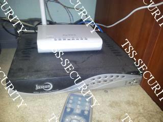 Видеорегистратор подключенный к роутеру.