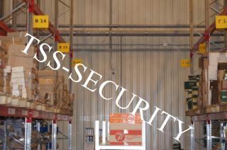 Установка видеонаблюдения на складе. Осуществляет контроль за перемещением персонала и движением товаров.