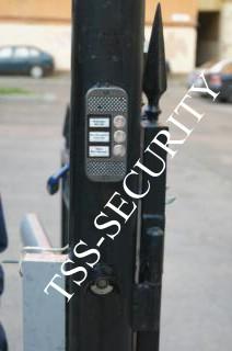 Вызывная панель и считыватель магнитных ключей СКД.